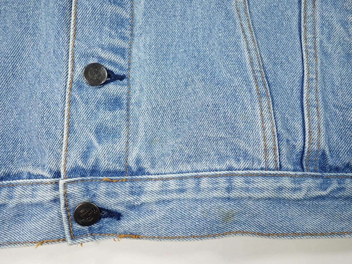 460/Hard Rock CAFE ハードロックカフェ Lサイズ Gジャン デニム ジャケット 刺繍 古着 オーバーサイズ ゆるだぼ ヴィンテージ ビンテージ_画像6