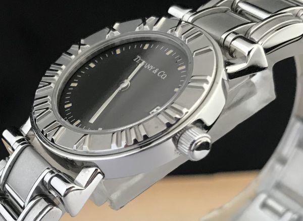 【ティファニー Tiffany&Co ☆ アトラス 】クオーツ レディース 腕時計 美品_画像5