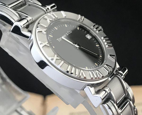 【ティファニー Tiffany&Co ☆ アトラス 】クオーツ レディース 腕時計 美品_画像6