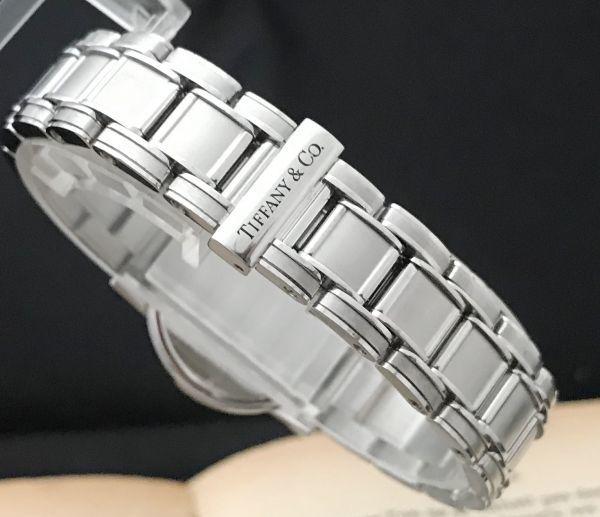 【ティファニー Tiffany&Co ☆ アトラス 】クオーツ レディース 腕時計 美品_画像7