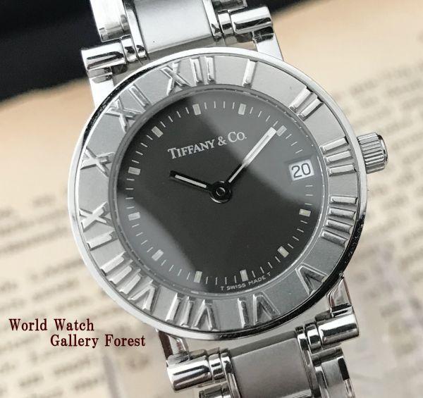 【ティファニー Tiffany&Co ☆ アトラス 】クオーツ レディース 腕時計 美品