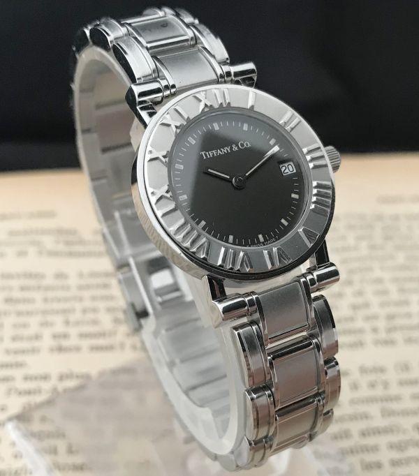 【ティファニー Tiffany&Co ☆ アトラス 】クオーツ レディース 腕時計 美品_画像3