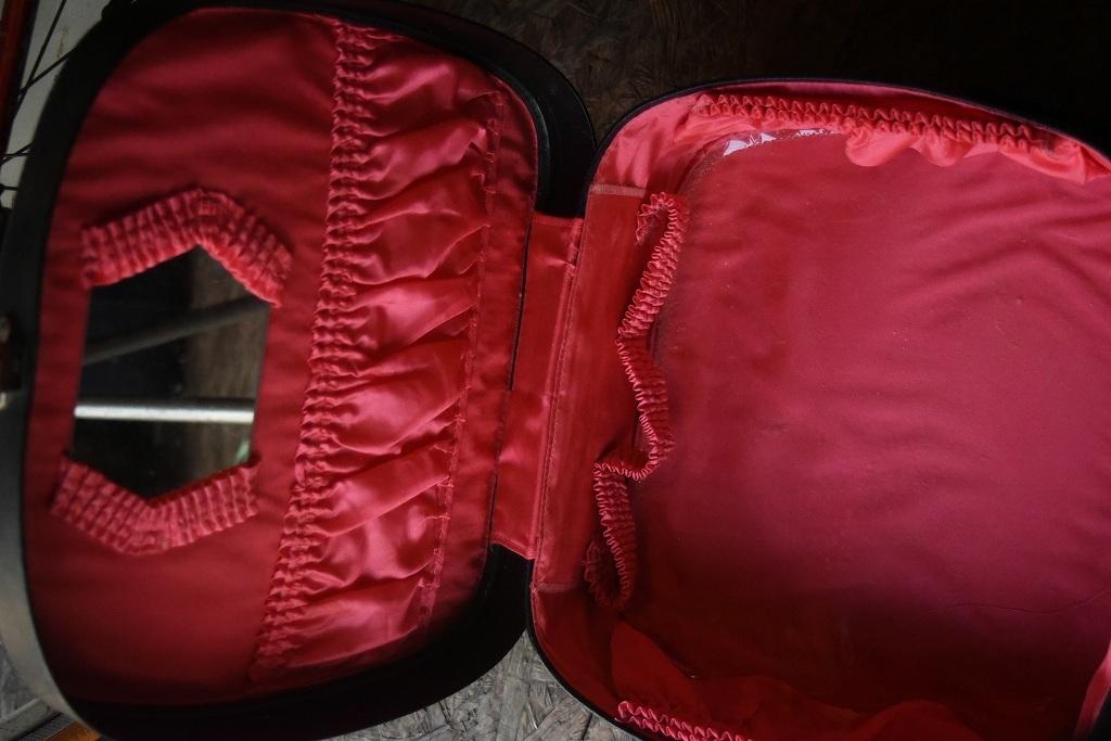 2268 ヴィンテージ トランクケース 革鞄 英国製 アンティーク ビンテージ  フランス イギリス レトロ 旅行 トラベルケース_画像6