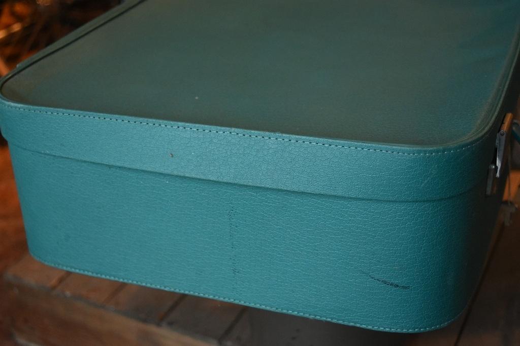 1211 ヴィンテージ 「ANTLER」 トランクケース 革鞄 英国製 アンティーク ビンテージ  フランス イギリス レトロ トラベルケース_画像4