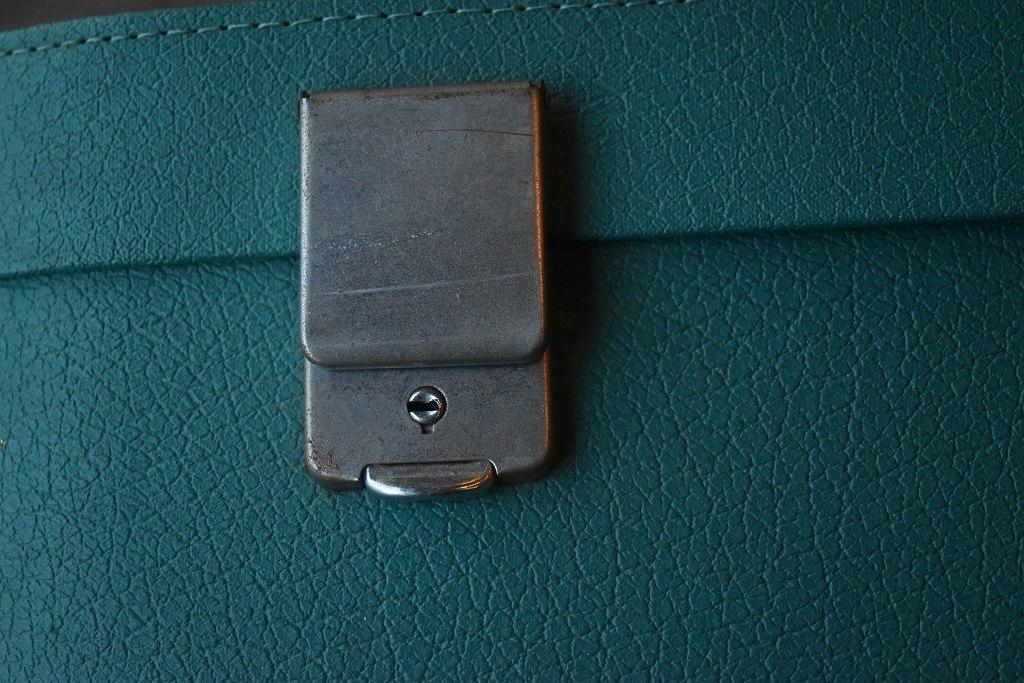 1211 ヴィンテージ 「ANTLER」 トランクケース 革鞄 英国製 アンティーク ビンテージ  フランス イギリス レトロ トラベルケース_画像6