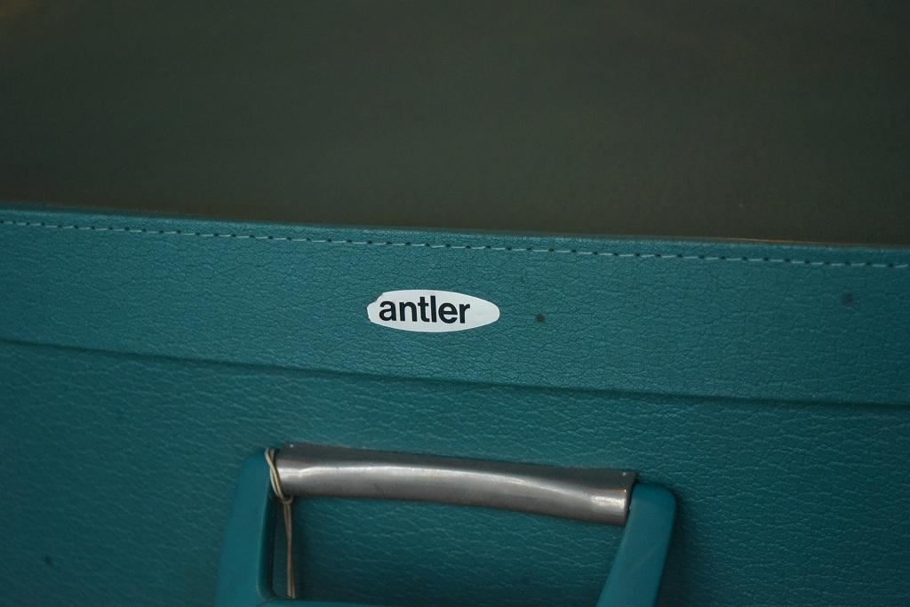 1211 ヴィンテージ 「ANTLER」 トランクケース 革鞄 英国製 アンティーク ビンテージ  フランス イギリス レトロ トラベルケース_画像3