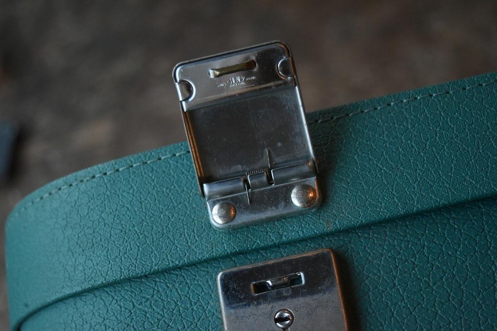 1211 ヴィンテージ 「ANTLER」 トランクケース 革鞄 英国製 アンティーク ビンテージ  フランス イギリス レトロ トラベルケース_画像8