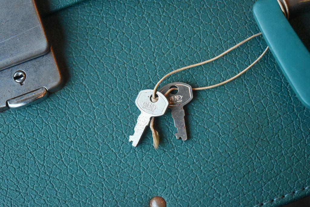 1211 ヴィンテージ 「ANTLER」 トランクケース 革鞄 英国製 アンティーク ビンテージ  フランス イギリス レトロ トラベルケース_画像7