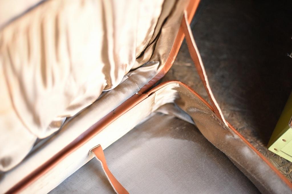 686 ヴィンテージ トランクケース 革鞄 英国製 アンティーク ビンテージ  フランス イギリス レトロ 旅行 トラベルケース_画像9
