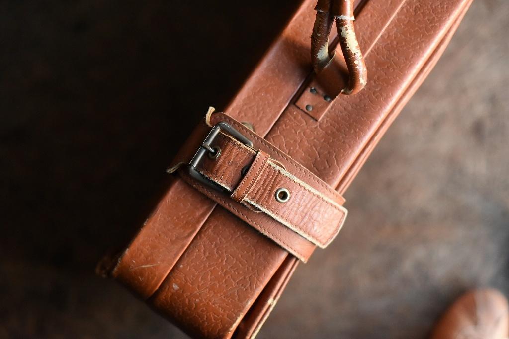686 ヴィンテージ トランクケース 革鞄 英国製 アンティーク ビンテージ  フランス イギリス レトロ 旅行 トラベルケース_画像6