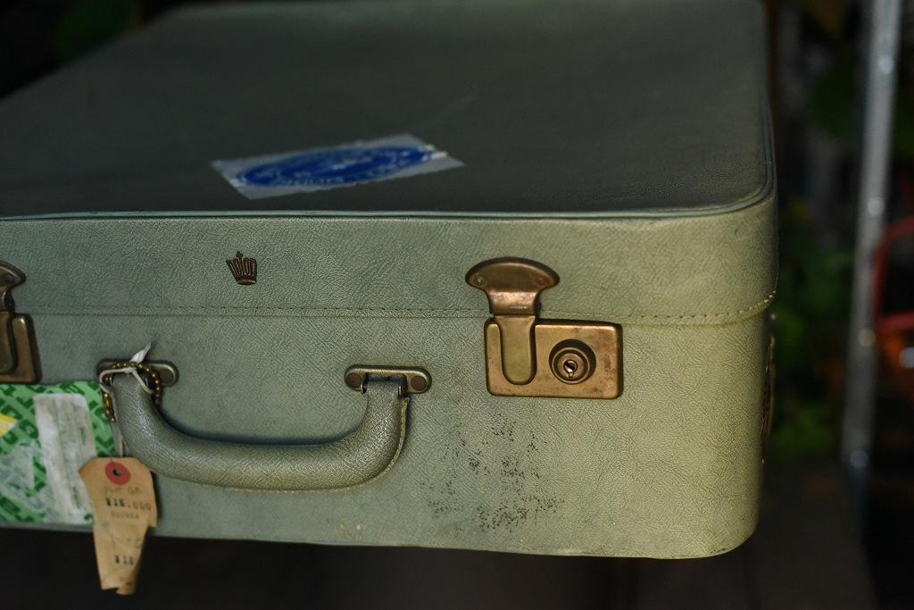984 ヴィンテージ トランクケース 革鞄 英国製 アンティーク ビンテージ  フランス イギリス レトロ 旅行 トラベルケース_画像2