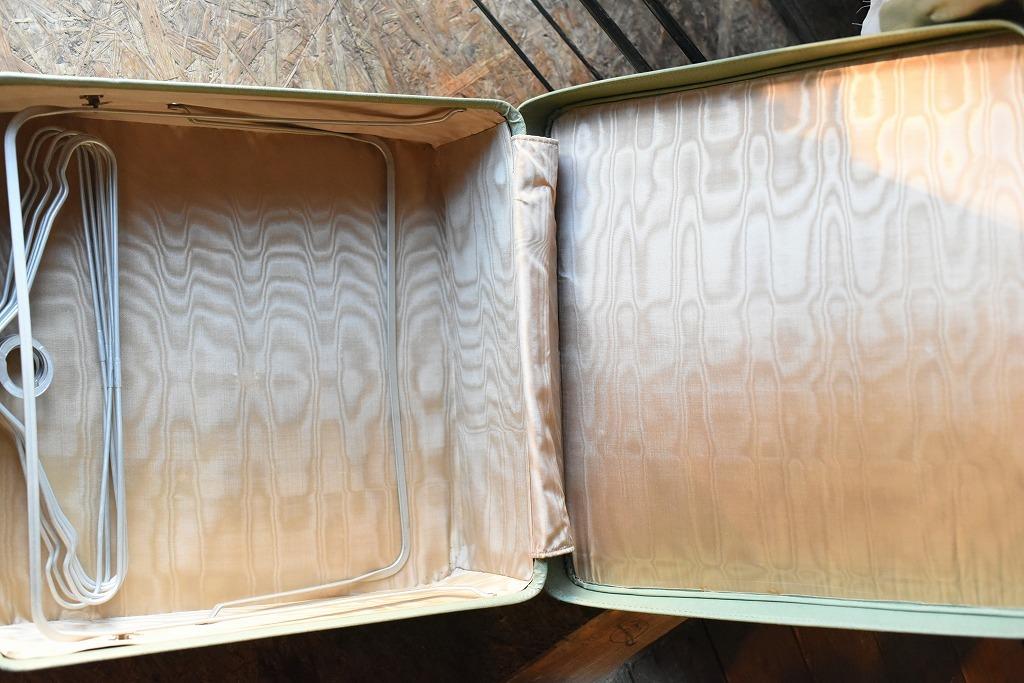 984 ヴィンテージ トランクケース 革鞄 英国製 アンティーク ビンテージ  フランス イギリス レトロ 旅行 トラベルケース_画像8