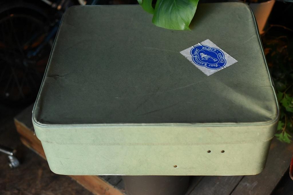 984 ヴィンテージ トランクケース 革鞄 英国製 アンティーク ビンテージ  フランス イギリス レトロ 旅行 トラベルケース_画像5