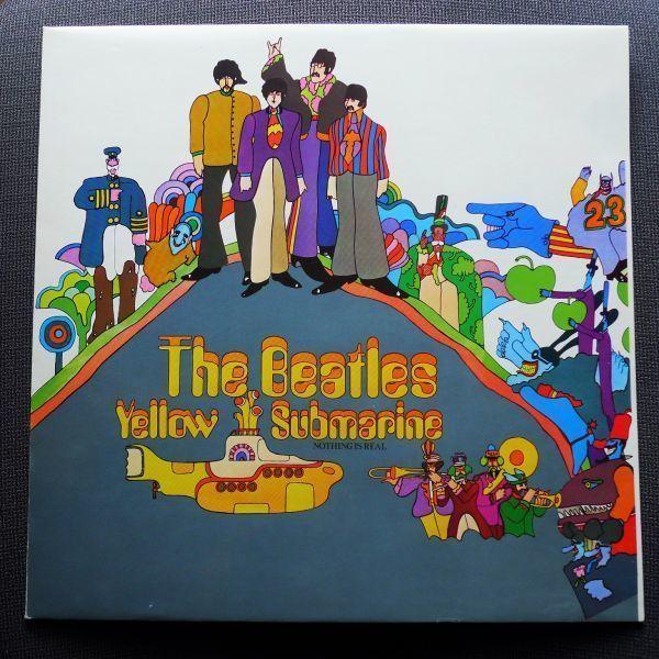 希少スウェーデン委託プレス★極美盤★ビートルズ The Beatles★イエローサブマリン Yellow Submarine_画像1