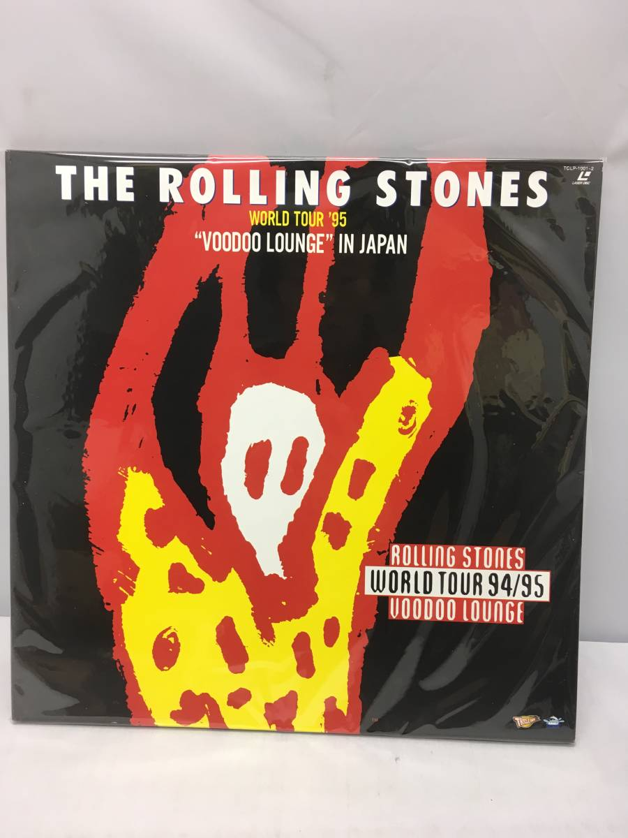 S1144 LD レーザーディスク ローリングストーンズ The Rolling Stones WORLD TOUR '95 'VOODOO LOUNGE' IN JAPAN_画像1