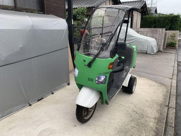 名古屋発 ジャイロキャノピー TA02 ミニカー カスタム ワゴン 緑 2st