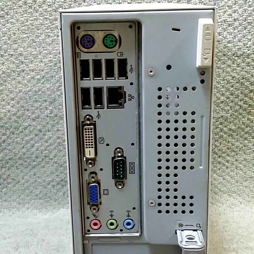 NEC Mate J ML-B PC-MJ32LLZCB ★ Core i3-550 3.20GHz/メモリ4GB/HDD160GB/DVD/office/Windows 10/Win 7 Professional/XP Pro Sp3_画像6