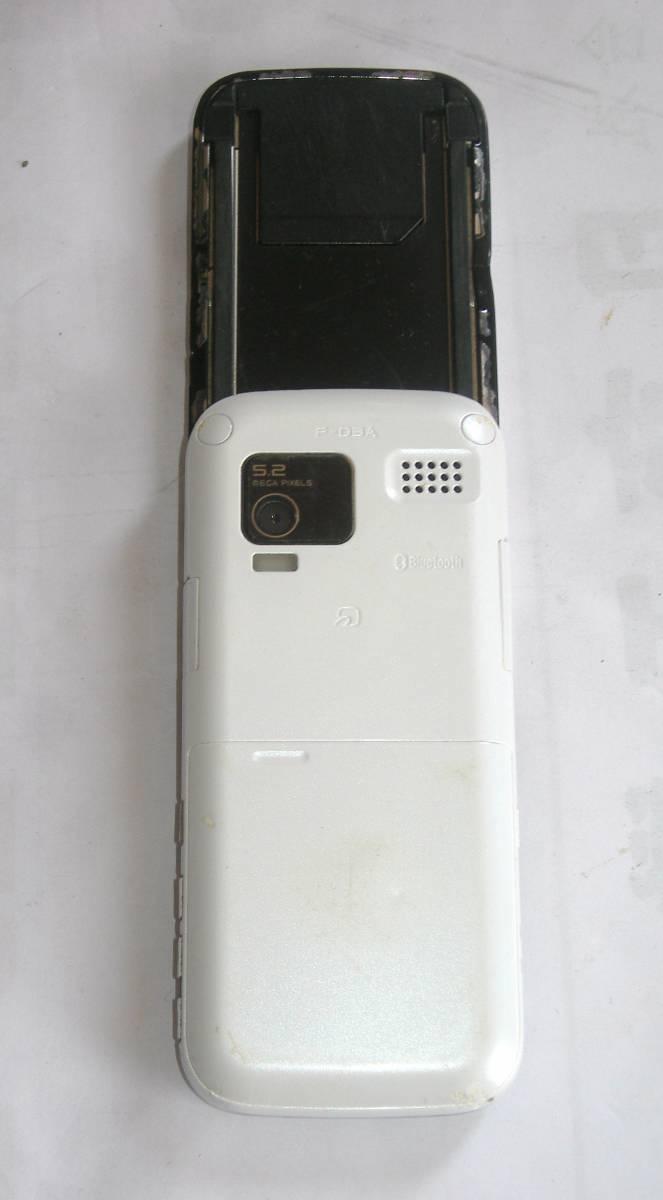 @特価でGO!NTTドコモ FOMA 携帯電話/ガラケー 富士通F-03A+電池F10 難ありジャンク_画像3