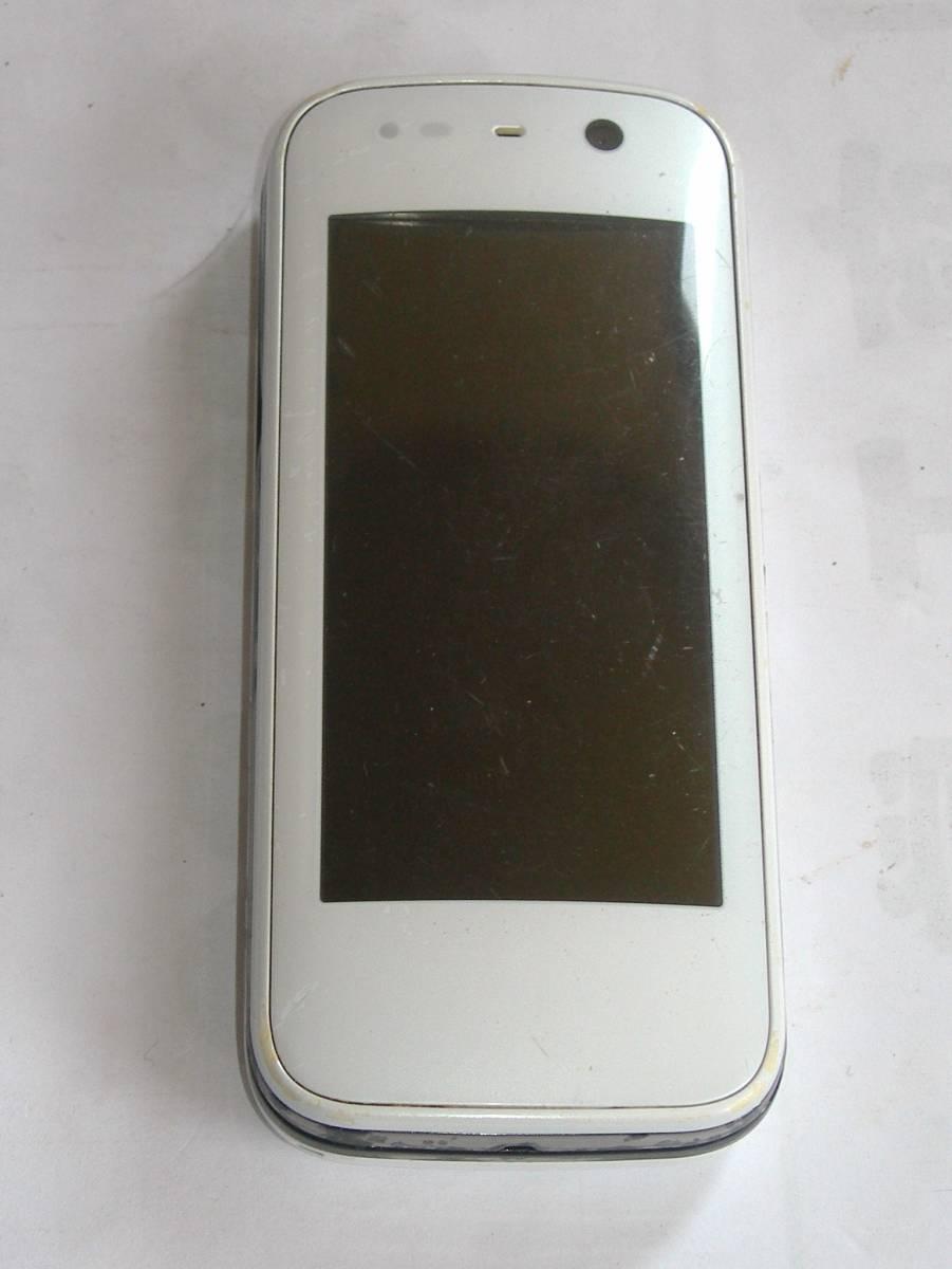@特価でGO!NTTドコモ FOMA 携帯電話/ガラケー 富士通F-03A+電池F10 難ありジャンク_画像1