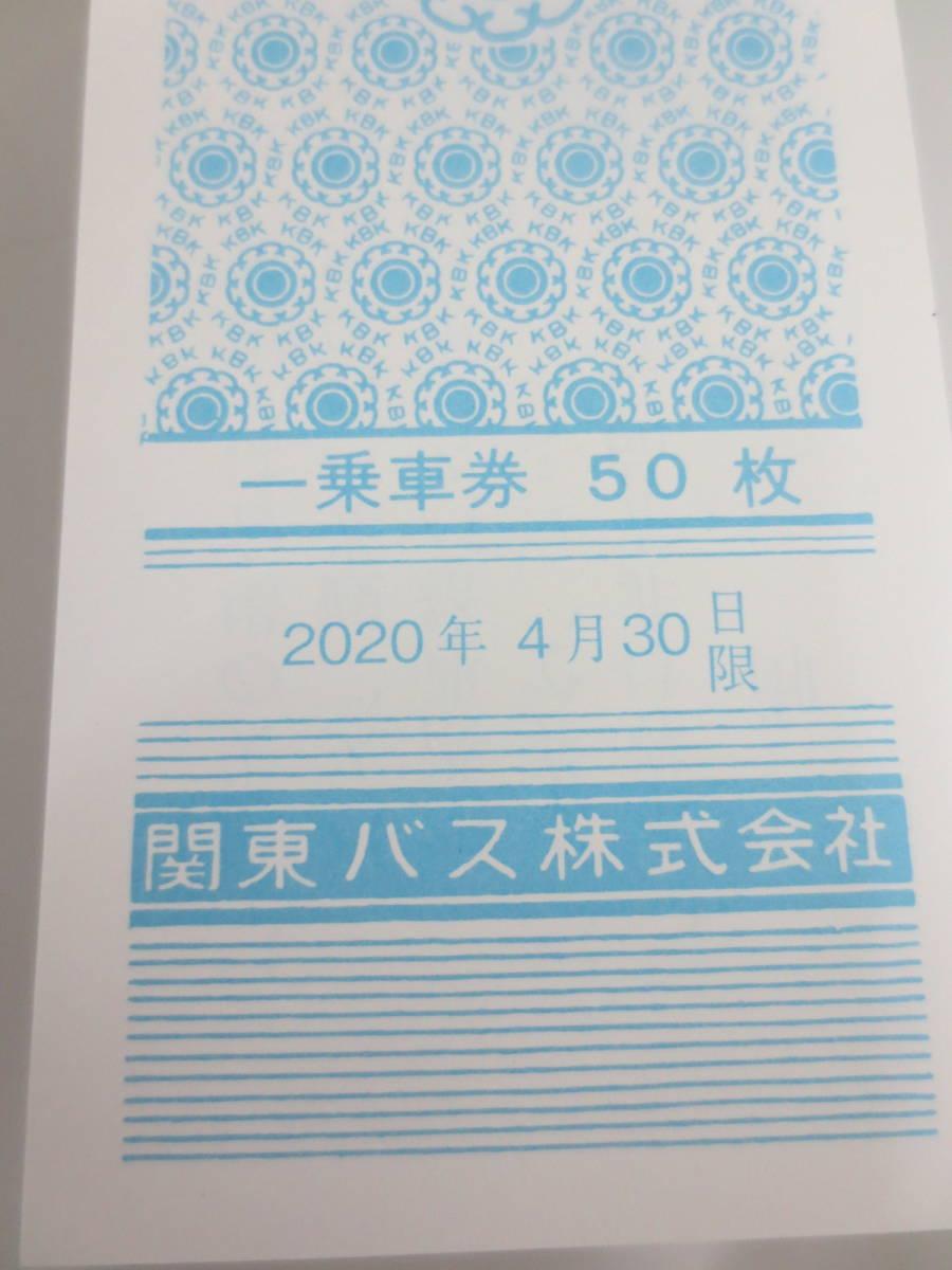 中野・杉並・西東京エリア:関東バス・株主優待乗車券1冊50/枚綴り!!_画像5