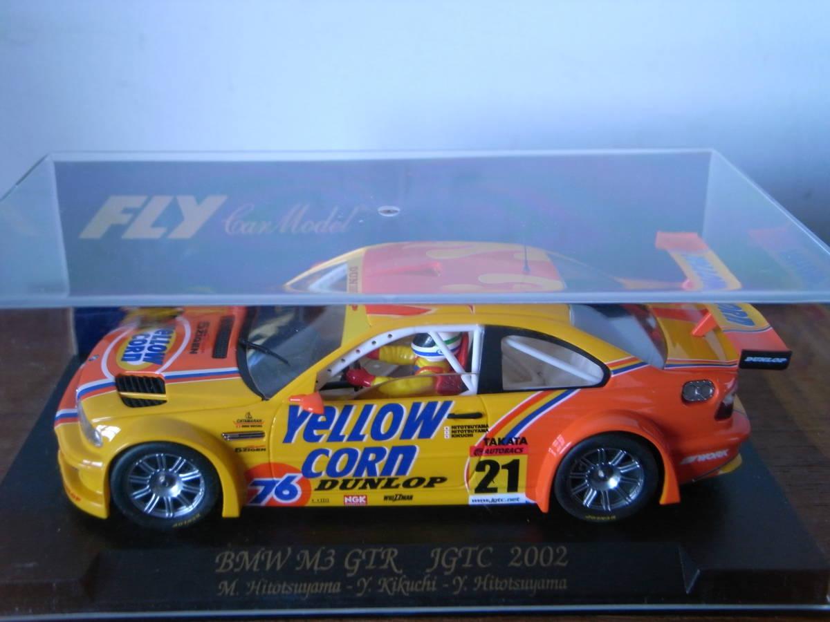 1/32 Fly BMW M3 GTR JGTC 2002 YellowCorn #21