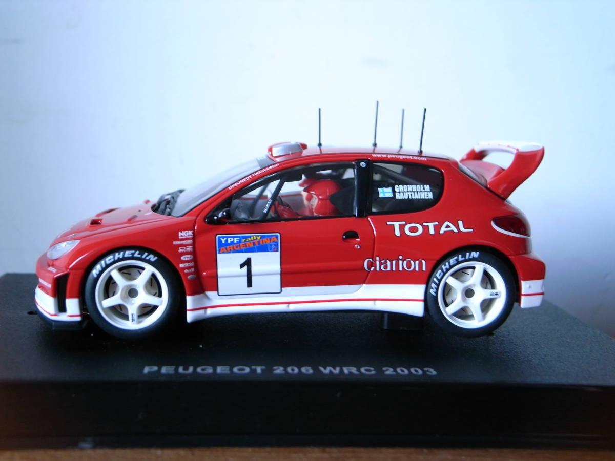 1/32 AUTOart PEGEOT 206 WRC 2003 #1