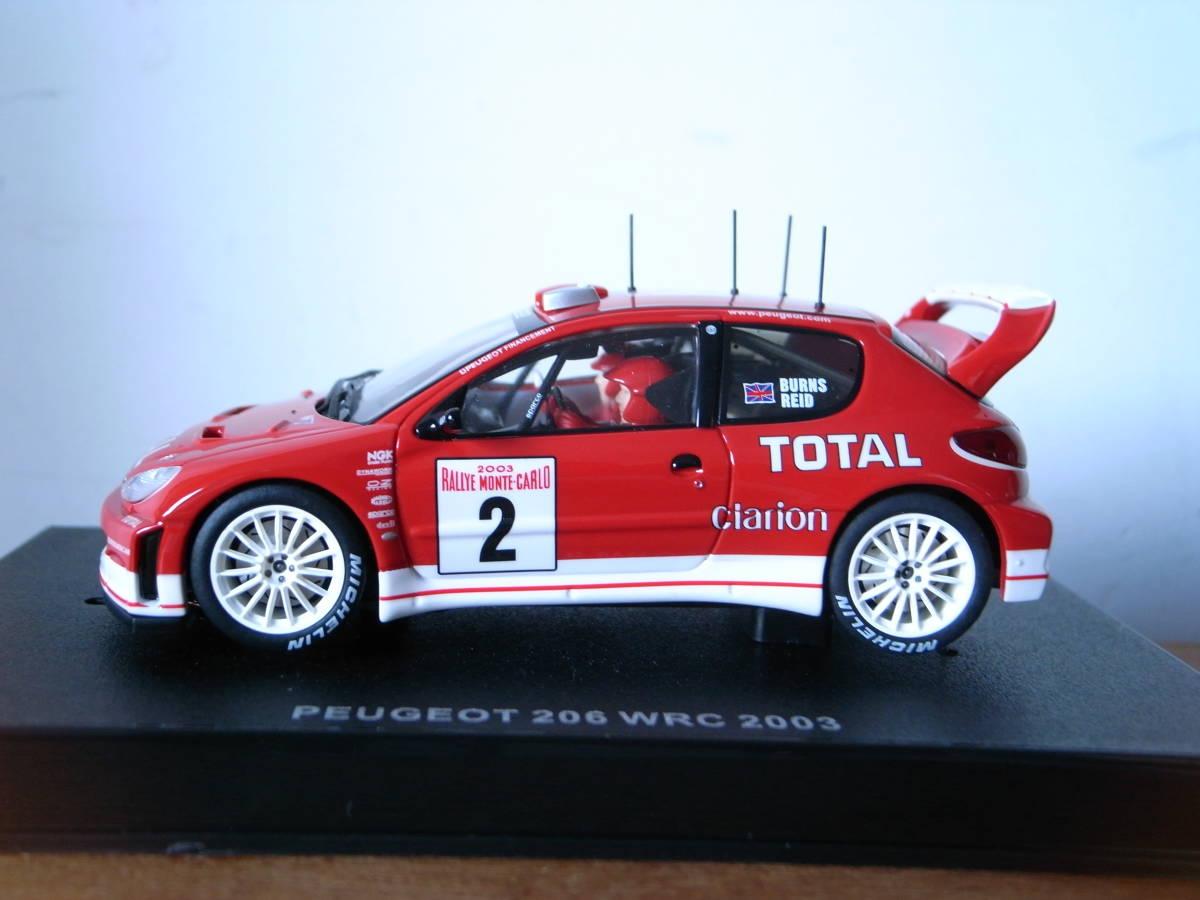 1/32 AUTOart PEGEOT 206 WRC 2003 #2