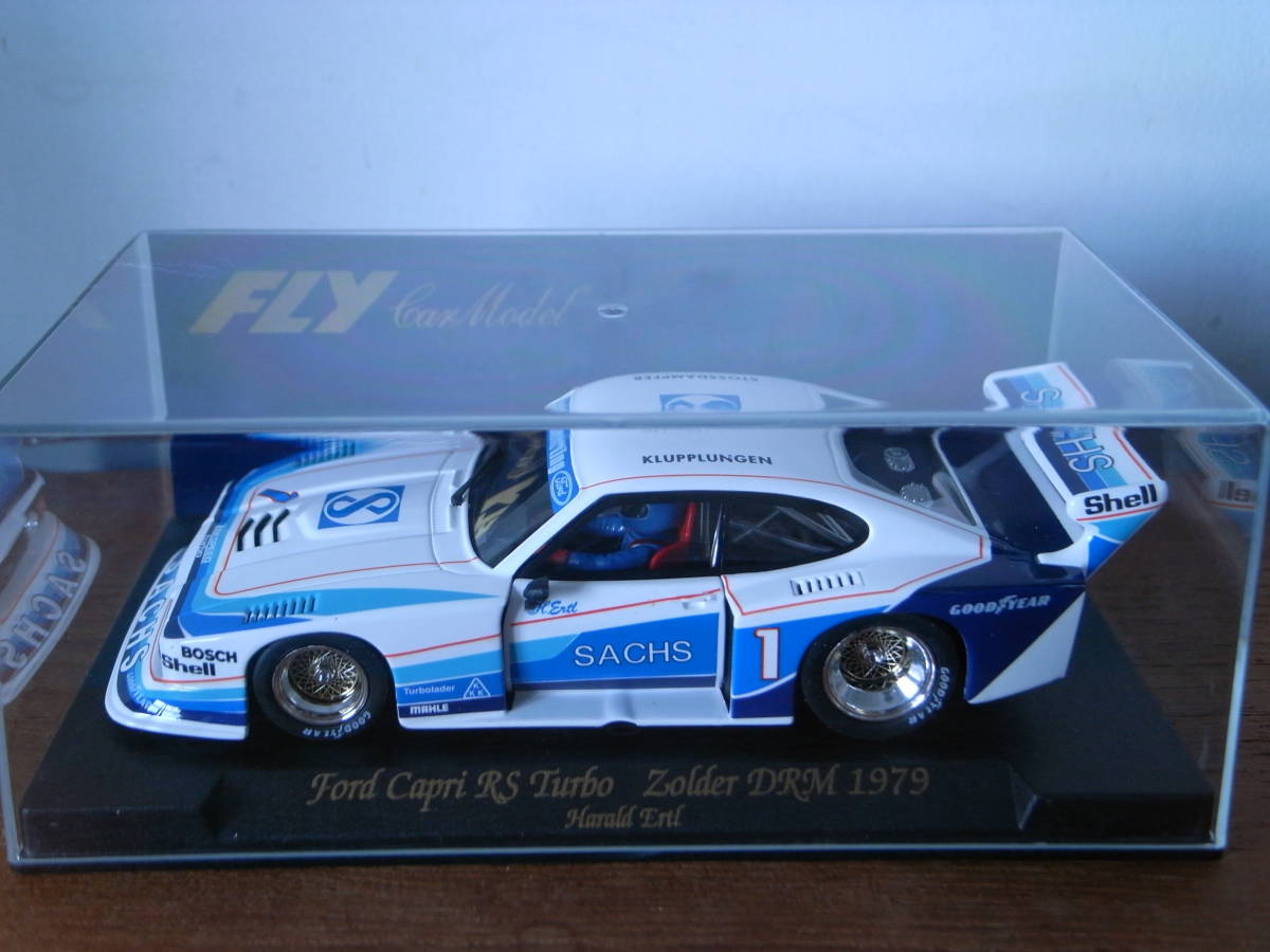 1/32 FLY Ford Capri RS Turbo Zolder DRM 1979 SACHS #1