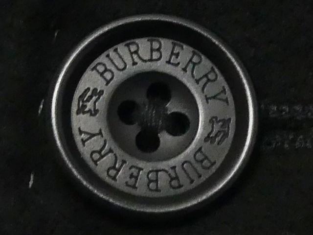 即決★BURBERRY BLACK LABEL★メンズS 廃版 テーラードジャケット バーバリーブラックレーベル ストライプ 三陽商会正規 ノバチェック 起毛_画像5