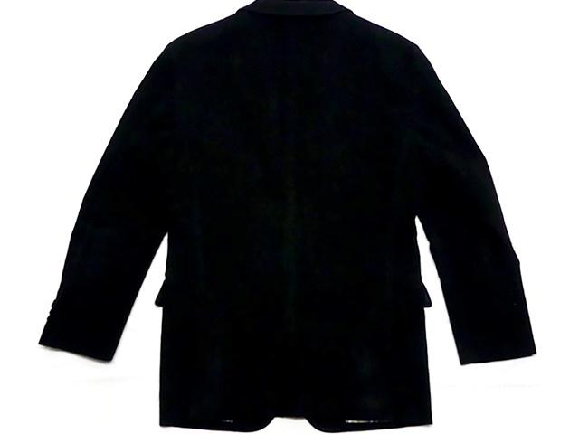 即決★BURBERRY BLACK LABEL★メンズS 廃版 テーラードジャケット バーバリーブラックレーベル ストライプ 三陽商会正規 ノバチェック 起毛_画像2