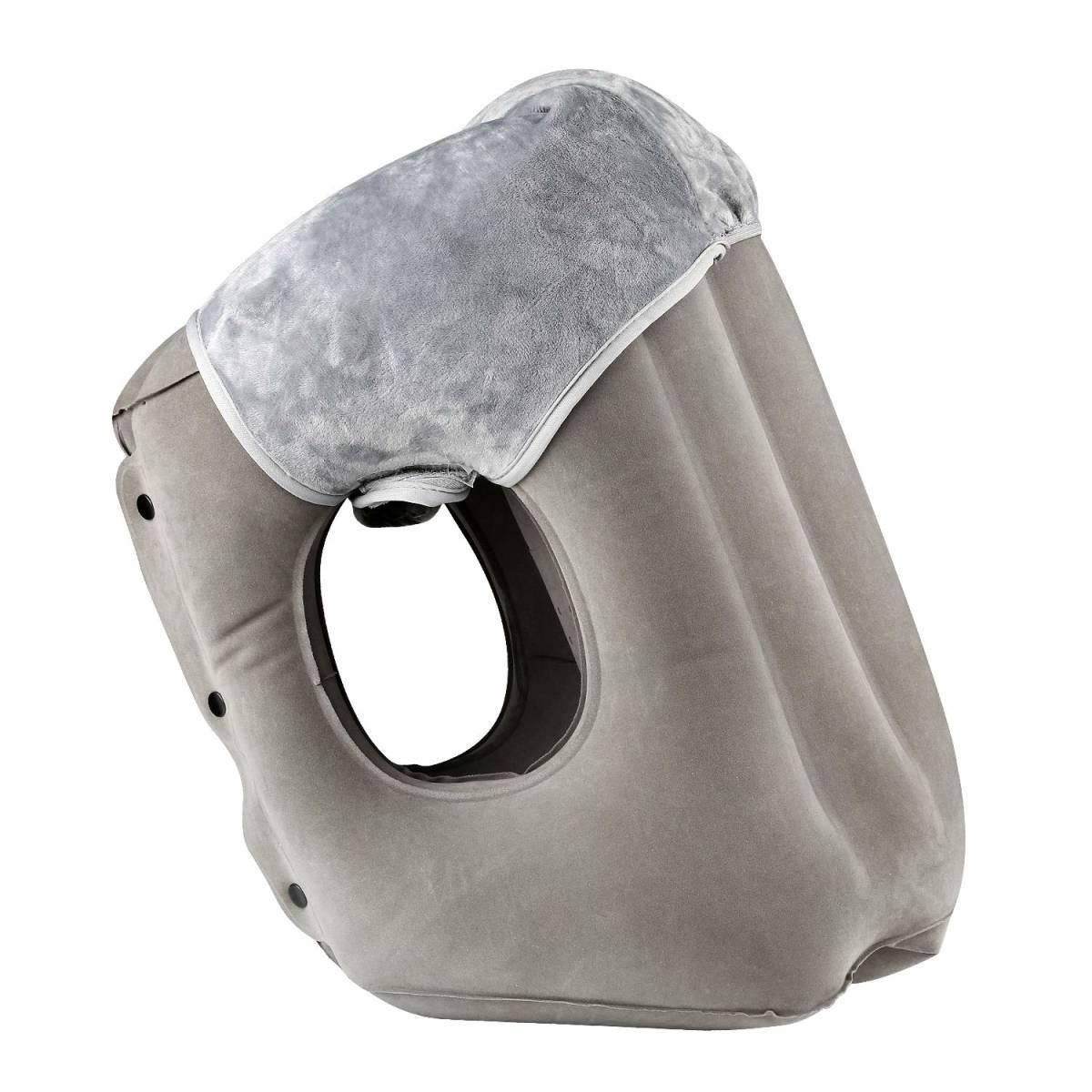 抱き枕 ネックピロー 飛行機 まくら エアーピロー 旅行便利グッズ トラベルグッズ 腰枕 旅行枕 携帯枕 特許大型エアーバルブ
