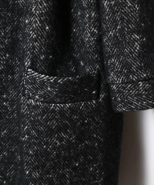 dulcamaraヘリンボーンフードCT コート シャツ ニット ジャケット パンツ ドゥルカマラ_画像4