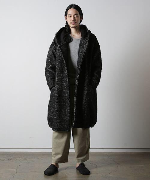 dulcamaraヘリンボーンフードCT コート シャツ ニット ジャケット パンツ ドゥルカマラ_画像8