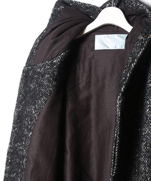 dulcamaraヘリンボーンフードCT コート シャツ ニット ジャケット パンツ ドゥルカマラ_画像5