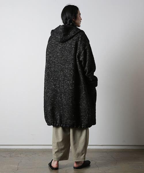 dulcamaraヘリンボーンフードCT コート シャツ ニット ジャケット パンツ ドゥルカマラ_画像9
