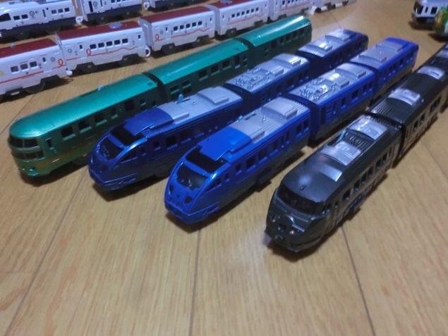 プラレール 各種車両(53両)セット (中古品)_画像3