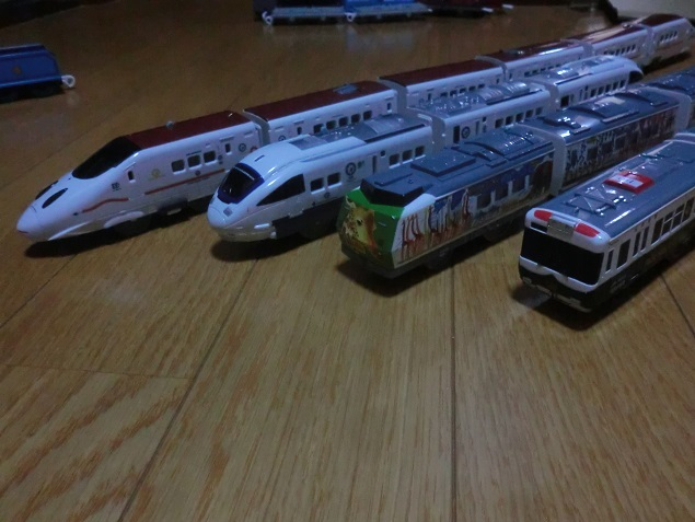 プラレール 各種車両(53両)セット (中古品)_画像4