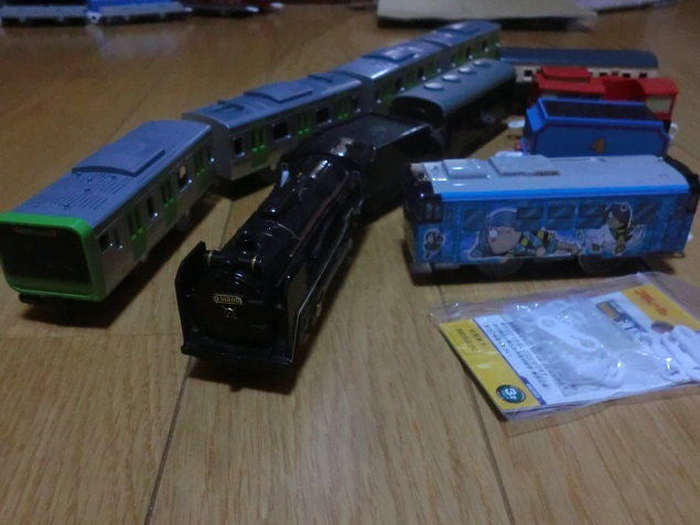 プラレール 各種車両(53両)セット (中古品)_画像5