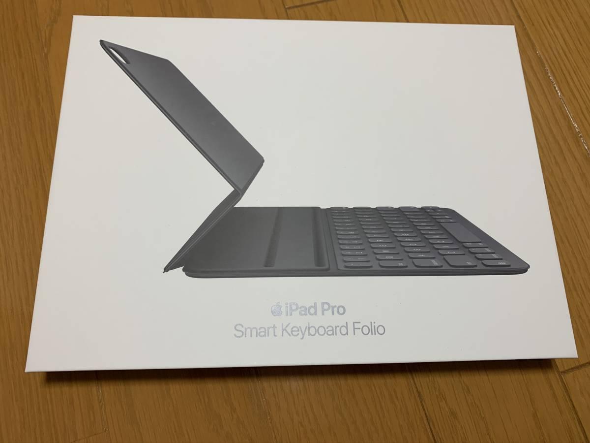 【美品】iPad Pro 11インチ Smart Keyboard Folio USキーボード MU8G2LL/A / 純正 Apple アップル 英語 スマート フォリオ ケース カバー_画像8