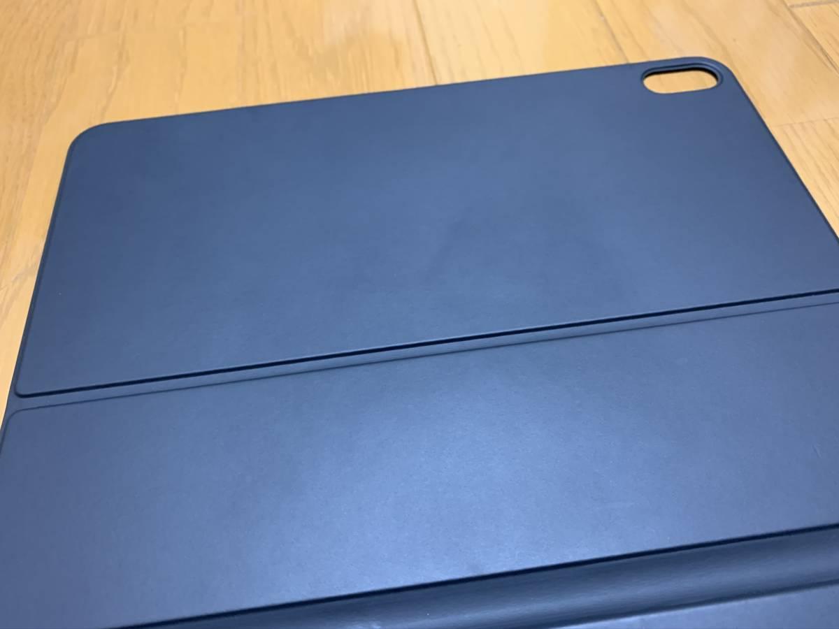 【美品】iPad Pro 11インチ Smart Keyboard Folio USキーボード MU8G2LL/A / 純正 Apple アップル 英語 スマート フォリオ ケース カバー_画像6