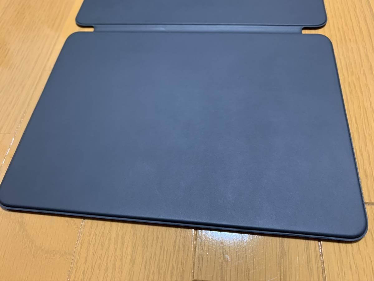 【美品】iPad Pro 11インチ Smart Keyboard Folio USキーボード MU8G2LL/A / 純正 Apple アップル 英語 スマート フォリオ ケース カバー_画像7