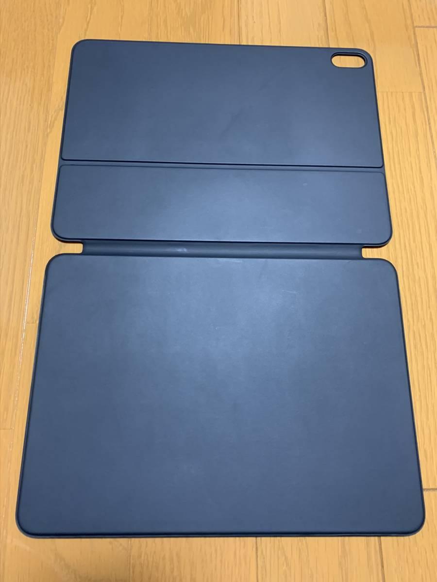 【美品】iPad Pro 11インチ Smart Keyboard Folio USキーボード MU8G2LL/A / 純正 Apple アップル 英語 スマート フォリオ ケース カバー_画像5