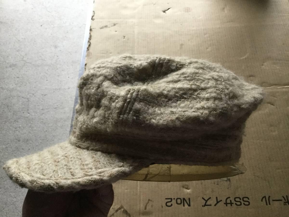 1609カシラCA4LAウールWOOLモヘア キャスケット帽子キャップCAPモヘヤ_画像5