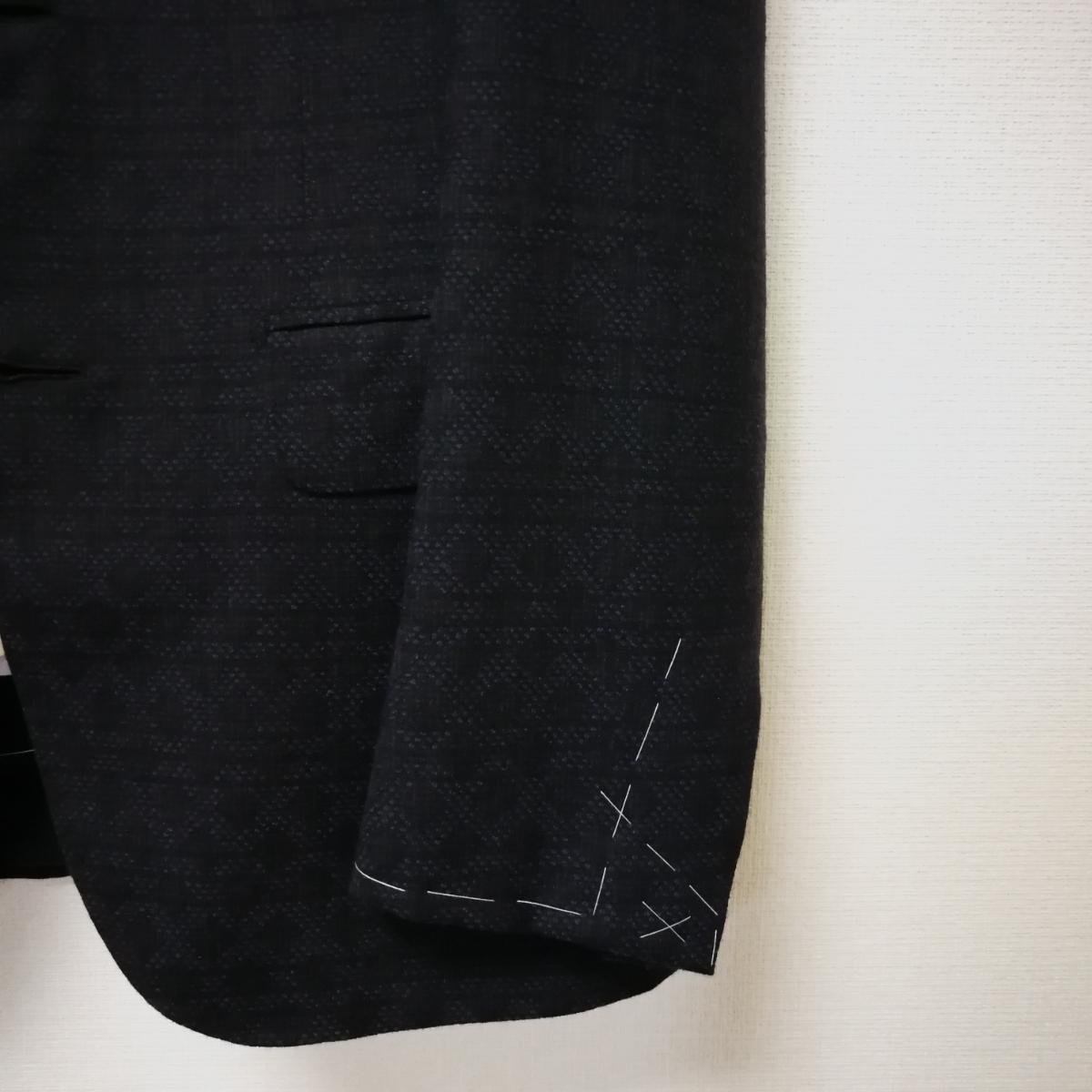 新品ブリオーニ ダークネイビースーツ サイズ44 Madison 濃紺_画像5