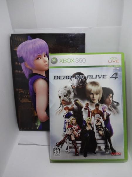 ★☆送料无料☆ XBOX360DEAD OR ALIVE 4[デッド・オア・アライブ4(限定版)]