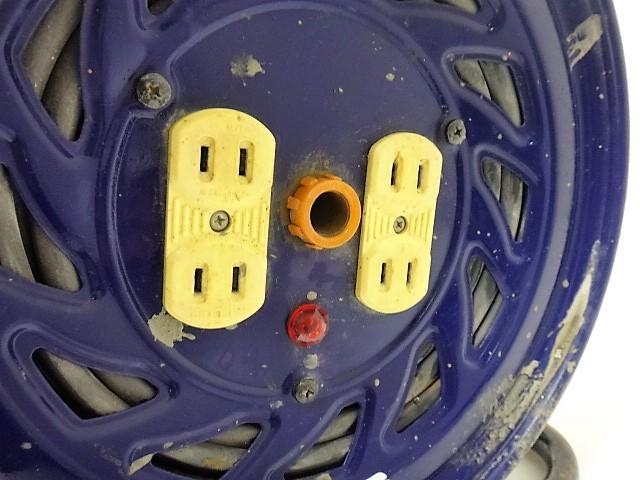 日動工業◆50m【電工ドラム NF-504D】電工リール/延長コード/コードリール◆100V-屋内型_画像2