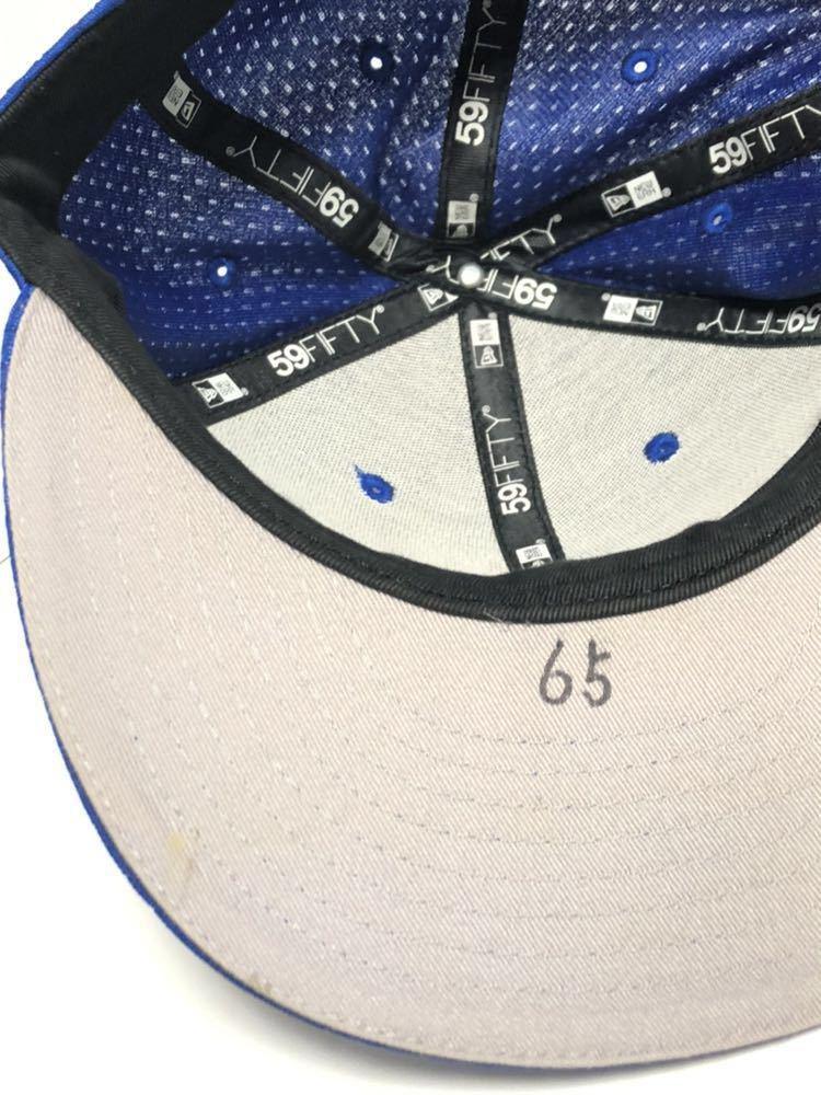 国吉佑樹 実使用 ホーム 横浜DeNAベイスターズ NEW ERA ニューエラ 59FIFTY 7 1/2 59.6cm キャップ帽子 実着用 オーセンティック 国吉 5950_画像6
