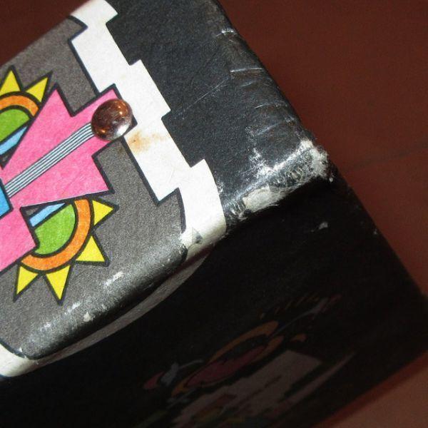 アンティーク雑貨 70's PETER MAX ピーターマックス バインダー ファイル グッズ ヒッピー サイケアート ヴィンテージ アーティスト_画像9