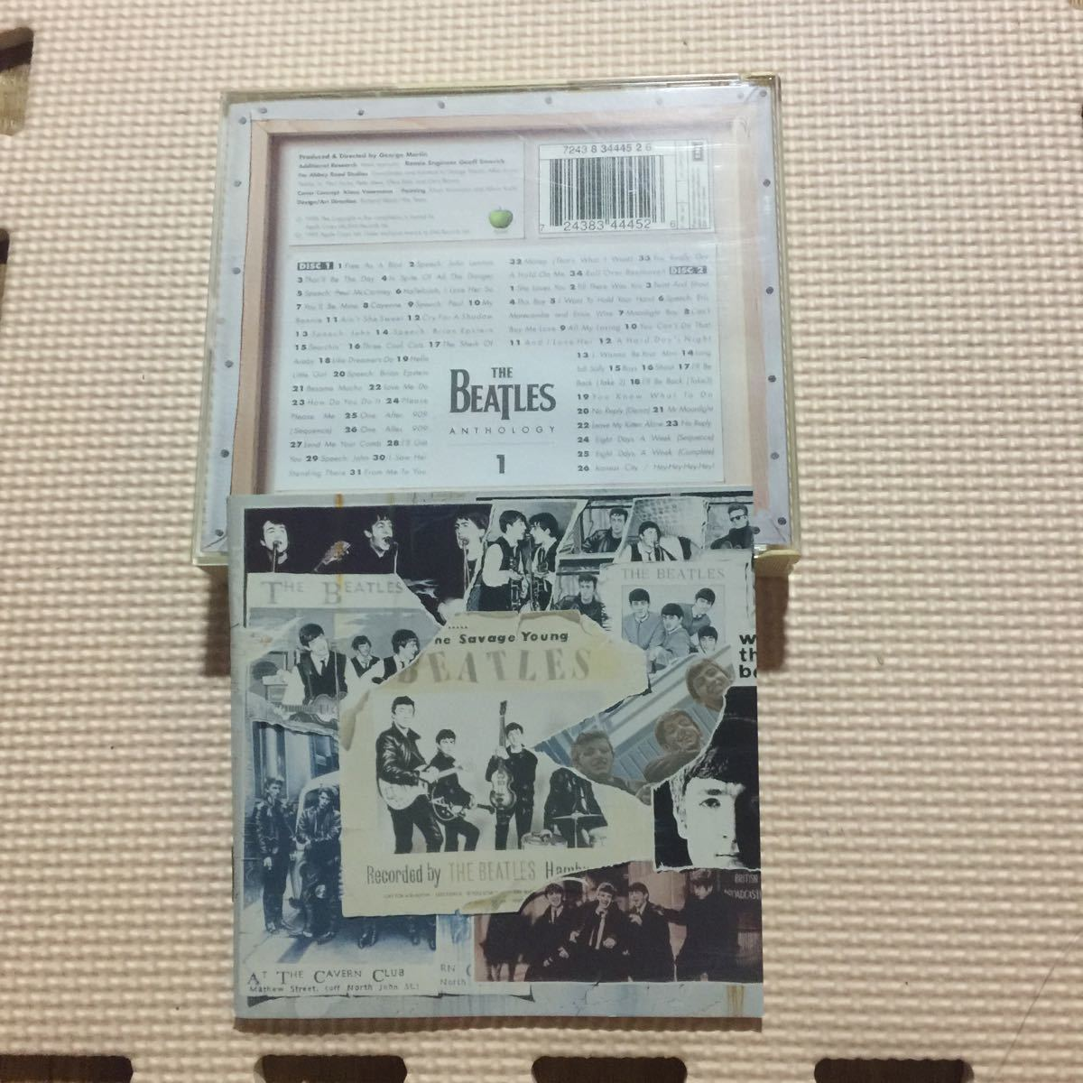 ザ・ビートルズ アンソロジー1 (The Beatles Anthology 1) EU盤2枚組CD_画像2