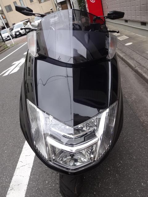 「マグザム250 SG17J 黒 カスタム車 Y,sギアオーディオ ローダウン HID」の画像2